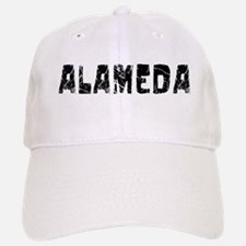 Alameda Faded (Black) Baseball Baseball Cap