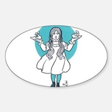 Dorthy 2 Oval Decal