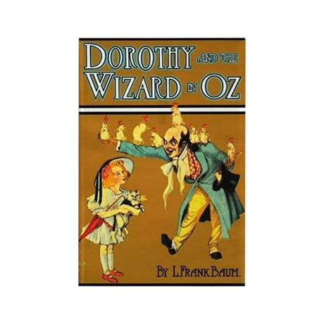 Dorthy / Wizard Rectangle Magnet (100 pack)