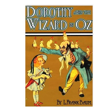Dorthy / Wizard Postcards (Package of 8)