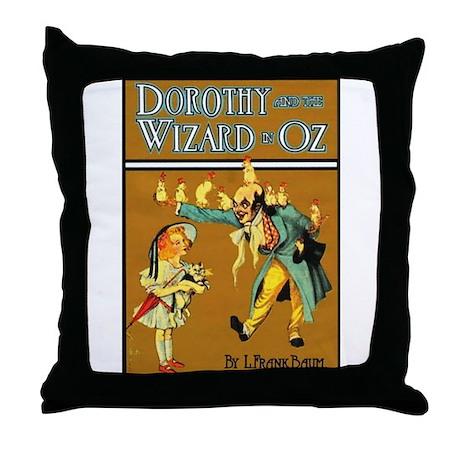 Dorthy / Wizard Throw Pillow
