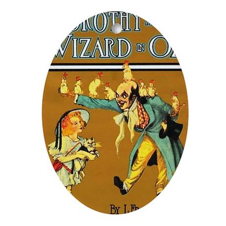 Dorthy / Wizard Oval Ornament