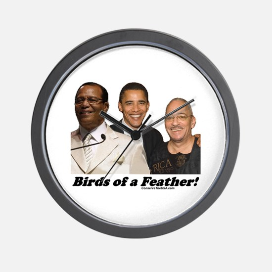 """Birds of a Feather"" Wall Clock"