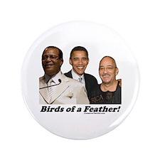 """Birds of a Feather"" 3.5"" Button (1"