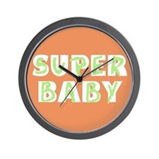 Super Baby Wall Clock