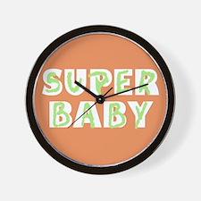 Super Baby Wall Clock