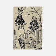 Dorthy & Scarecrow Rectangle Magnet