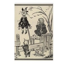 Dorthy & Scarecrow Postcards (Package of 8)