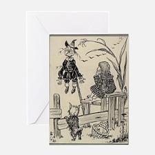 Dorthy & Scarecrow Greeting Card