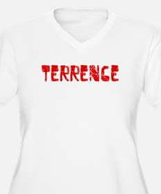 Terrence Faded (Red) T-Shirt