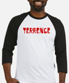 Terrence Faded (Red) Baseball Jersey