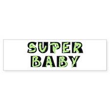 Super Baby Bumper Bumper Sticker