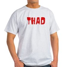 Thad Faded (Red) T-Shirt