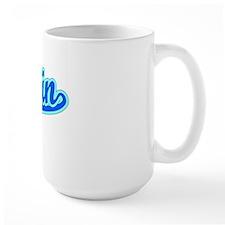 Retro Rocklin (Blue) Mug