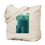 Gorilla t shirt Canvas Totes
