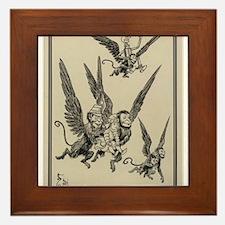 Flying Monkeys Framed Tile