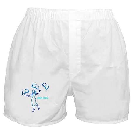 Library Goddess Boxer Shorts