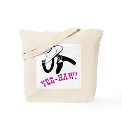 Ride em Yee Haw (Pink) Tote Bag