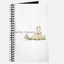 Scottie Paper Trained Journal
