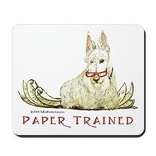 Scottish Terrier Trained Dog Mousepad
