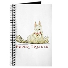 Scottish Terrier Trained Dog Journal