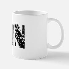 Alvin Faded (Black) Mug