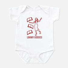 Library Goddess Infant Bodysuit