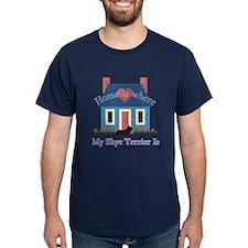 Skye Terrier Home Is T-Shirt