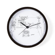 Unique V Wall Clock
