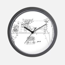 Cute Woodwork Wall Clock