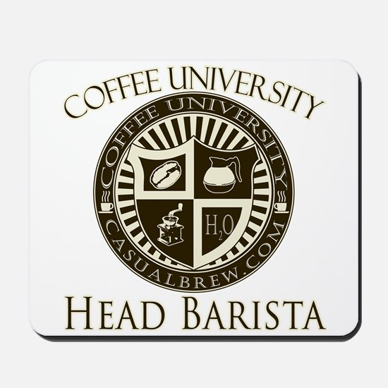 Head Barista Mousepad