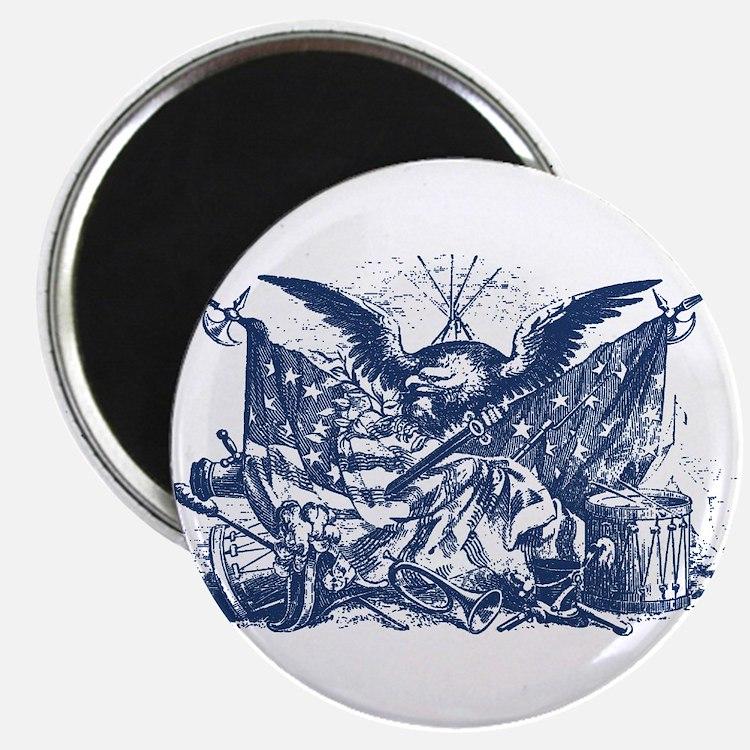 "Historical Illustration I 2.25"" Magnet (100 pack)"