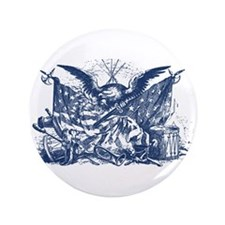"Historical Illustration I 3.5"" Button (100 pack)"