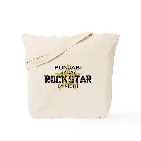 Punjabi Rock Star by Night Tote Bag