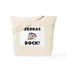 Zebras Rock! Tote Bag