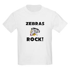 Zebras Rock! T-Shirt