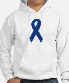 Dk Blue Awareness Ribbon Jumper Hoody
