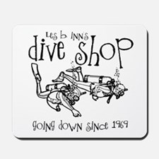 Dive Shop Mousepad