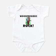 Woodpeckers Rock! Infant Bodysuit