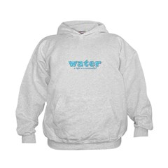 Water: A right or a commodity Hoodie