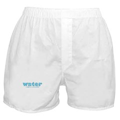 Water: A right or a commodity Boxer Shorts