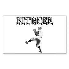 Pitcher Rectangle Decal