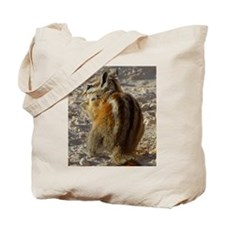 Cute Chipmunk photo Tote Bag