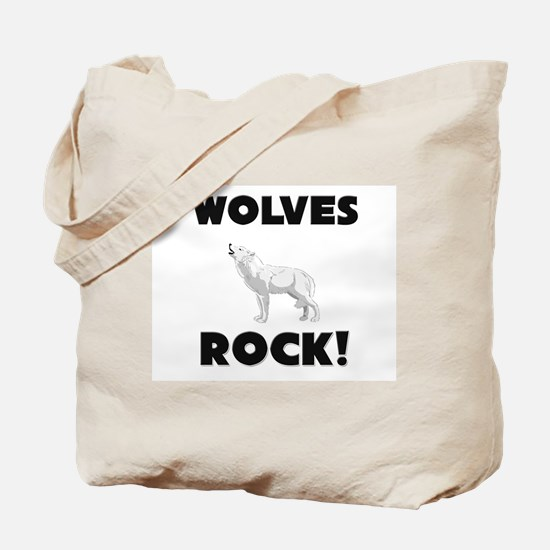 Wolves Rock! Tote Bag