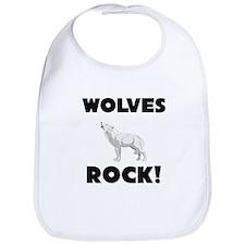 Wolves Rock! Bib