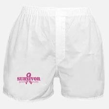 Survivor Breast Cancer Boxer Shorts