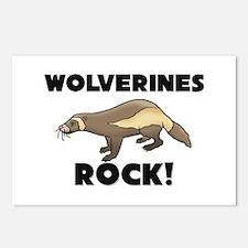 Wolverines Rock! Postcards (Package of 8)