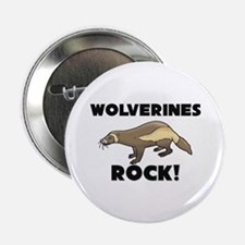 """Wolverines Rock! 2.25"""" Button (10 pack)"""