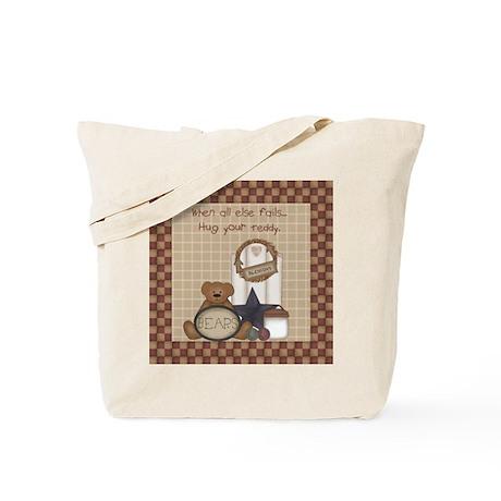 Hug your teddy Tote Bag