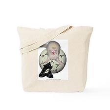 Soccer Ferret Tote Bag